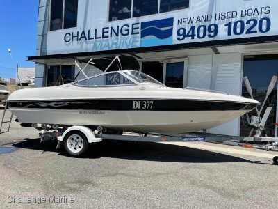 Stingray 185LS Bowrider with only 190 hours use!