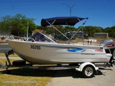 Stacer 519 Sea Runner 2007 model 90hp 4 stroke