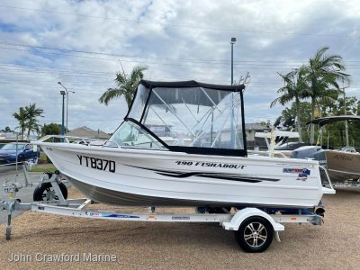 Quintrex 490 Fishabout 'Blade Hull'