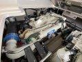 Sea Ray 455 Sundancer:VERY clean engines