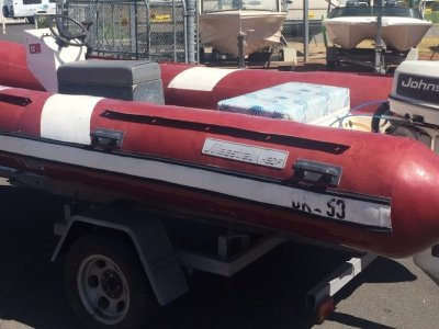 Maestro Rigid Inflatable Centre Console 4.8m