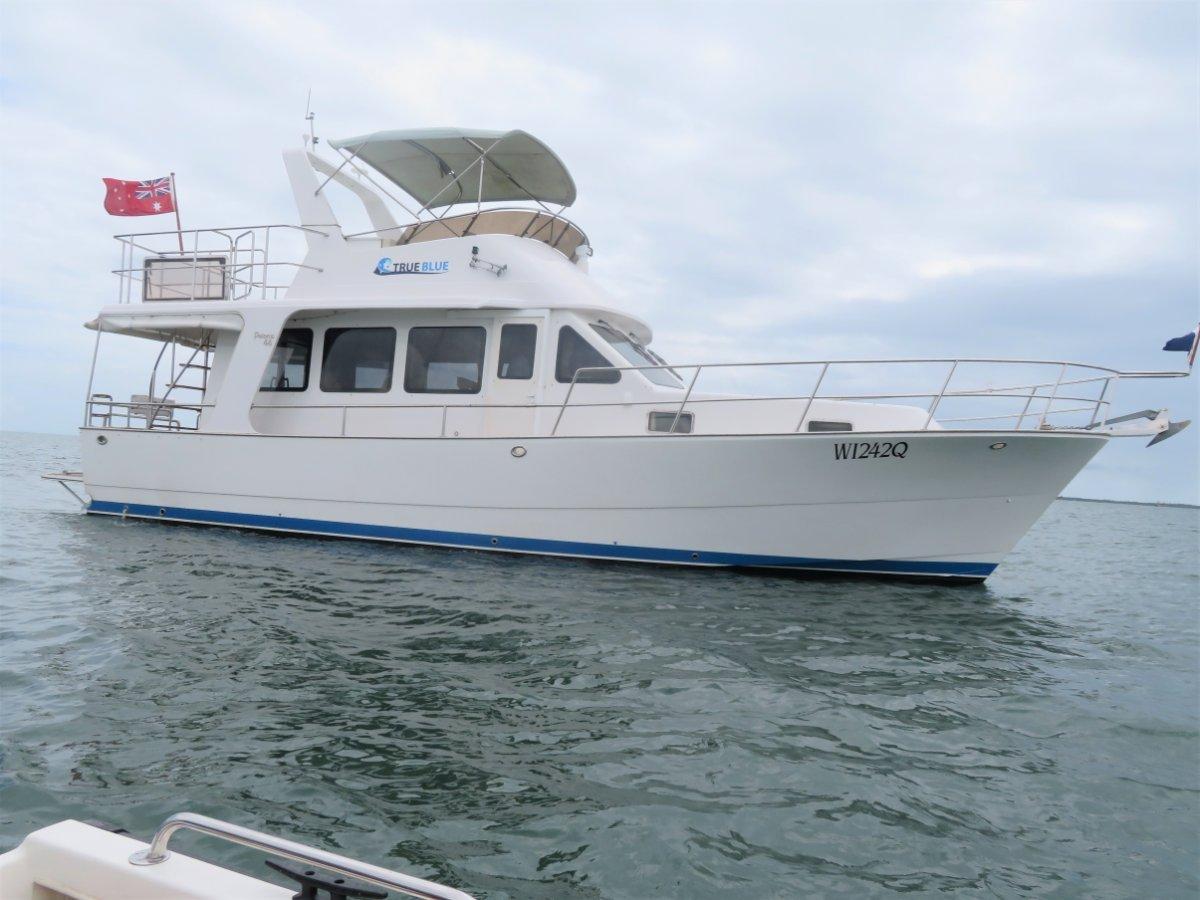 Pelorus 44 Twin Diesel Flybridge cruiser