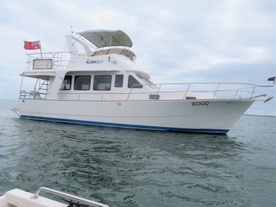 Pelorus 44 Twin Diesel Flybridge cruiser