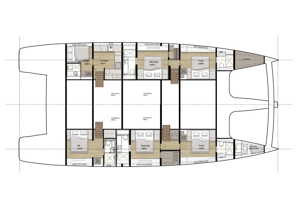 Sunreef Yachts 80 Sailing Catamaran
