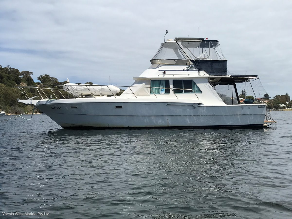 """Randell 41 Mk II Flybridge Sports Fisher """" NORTH WEST ADVENTURE of A LIFE TIME """":RANDELL 41 MK 2 by YACHTS WEST MARINE ph 9335 7788"""
