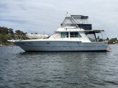 "Randell 41 Mk II Flybridge Sports Fisher "" NORTH WEST ADVENTURE of A LIFE TIME """
