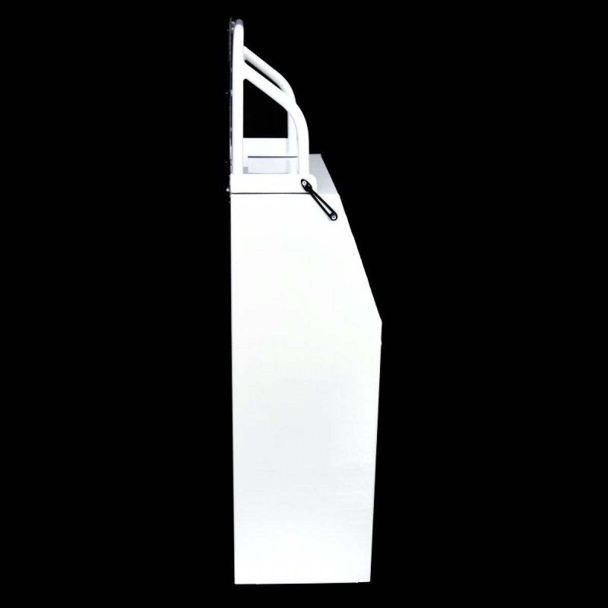 Boat Centre Console 500W x 350D x 1380H & folding windscreen