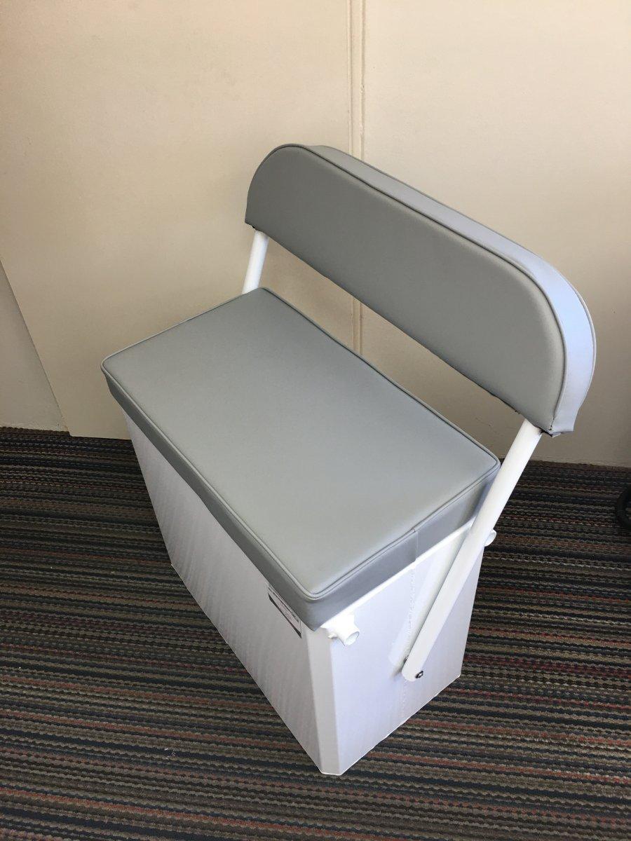 Boat Seat box 700L x 400W x 700H swinging backrest