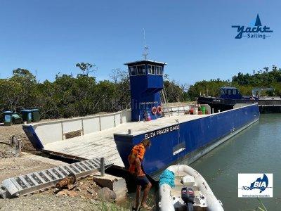 22m Landing Barge AMSA Survey being done ATM
