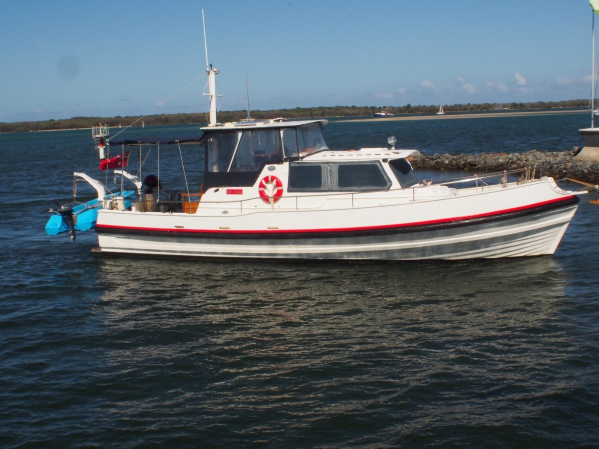 Cayzer Timber Cruiser Tough Built Pilot Boat now Converted