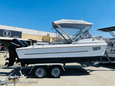 Markham 4.9 Whaler Solid Platform with 2009 4 Stokes **REDUCED**