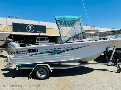 Quintrex 475 Bay Hunter Caprice One Owner from New