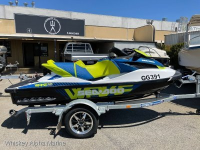Sea-Doo Wake Pro 230 With only 23 Hours!