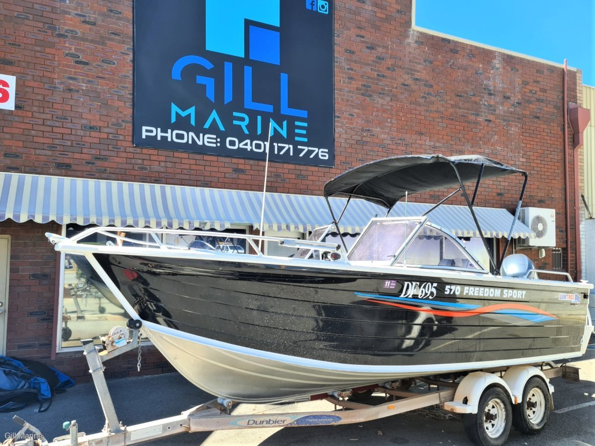 Quintrex 570 Freedom Sport AWESOME OFFSHORE FAMILY, FISHING BOAT FORSALE