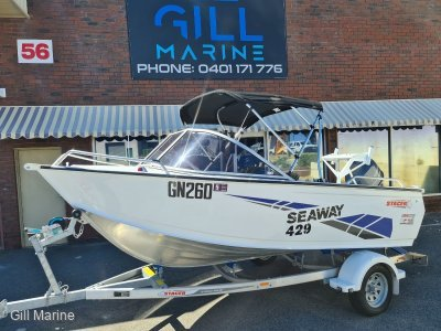 Stacer 429 Seaway 2020 MODEL LOW HOURS READY TO GO FOR SUMMER!!!