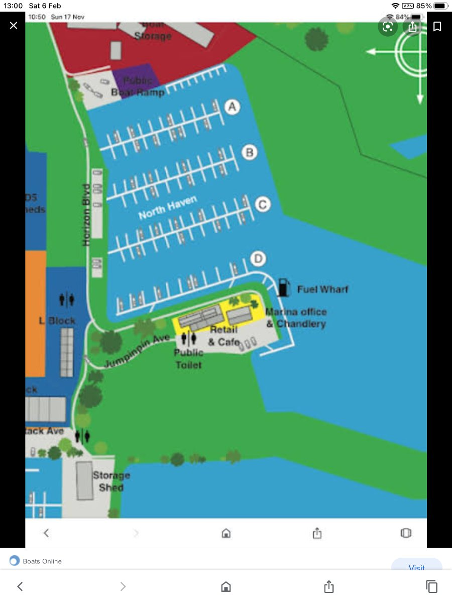 12 m mono Berth for Sale at Horizon Shores Marina
