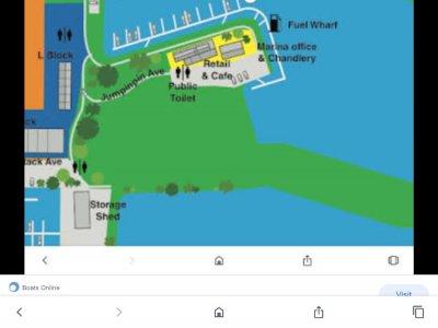 12 m mono Berth for Sale at Horizon Shores Marina