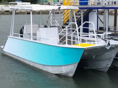ALLOY CHARTER CAT - 7 metre