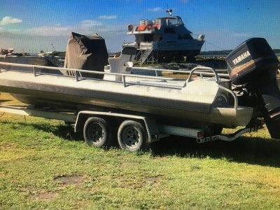 WORKBOAT - 7.3m ALLOY