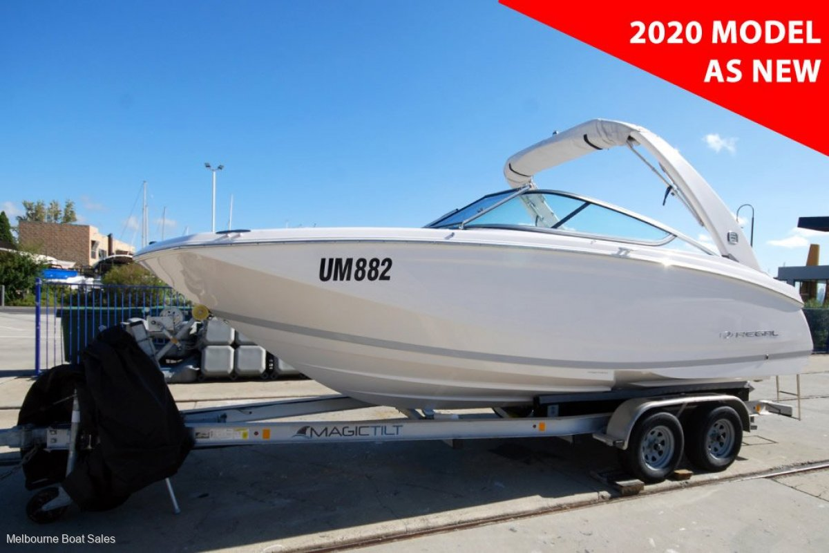 Regal 22 Fasdeck - AS NEW - LOADED WITH OPTIONS