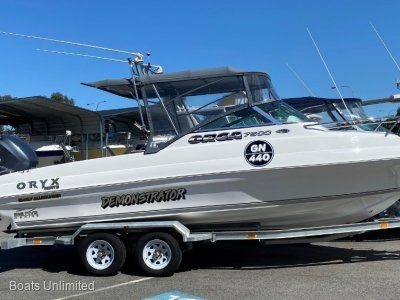 Oryx Orca 7500 All Rounder NEW BOAT PACKAGES, REQUEST A BUILD SHEET