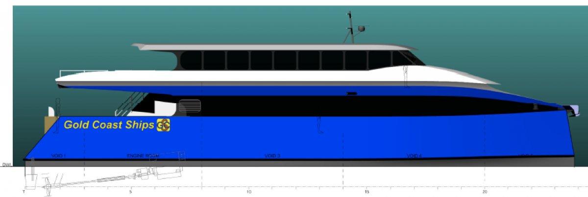28m 300 PAX Offshore Passenger Cat
