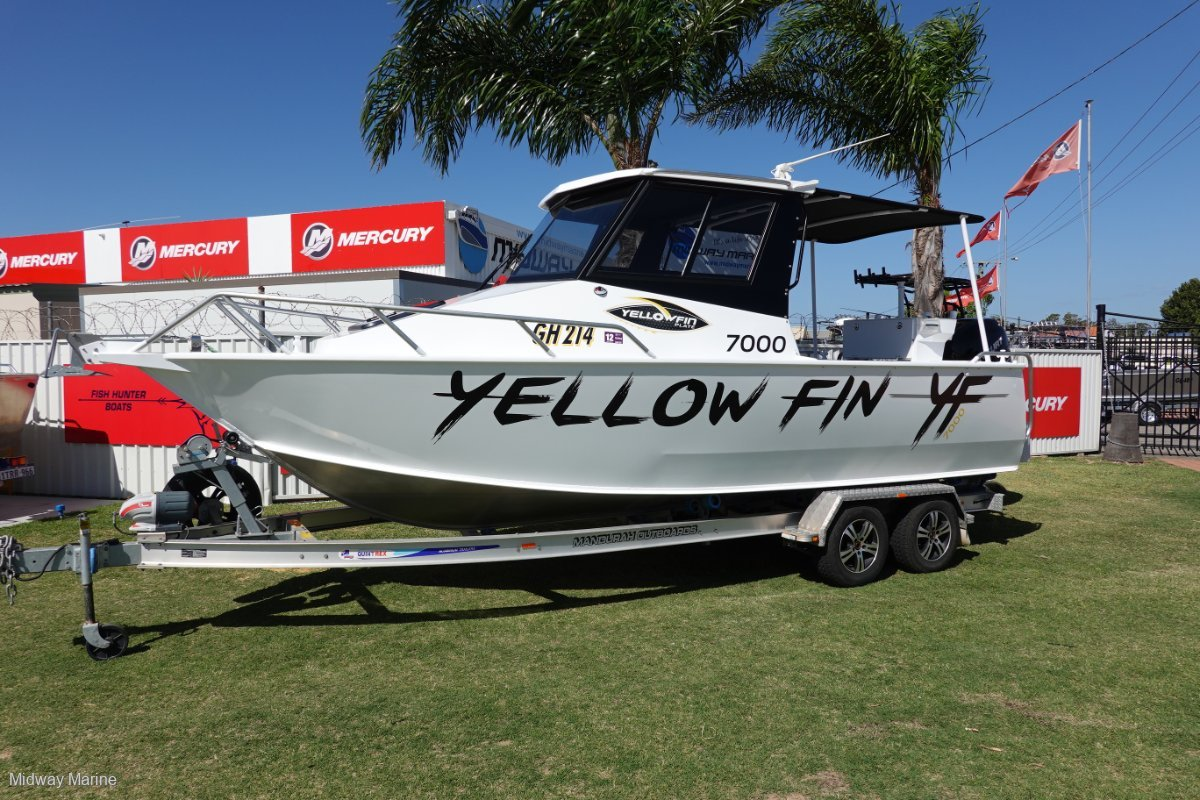Yellowfin Plate 7000 Southerner Hard Top