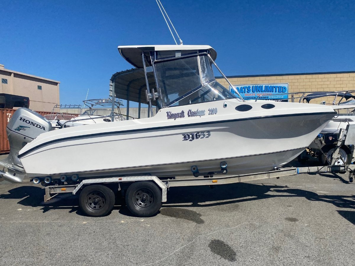 Kingcraft Classique GREAT FAMILY PACKAGE WITH 4 STROKE! BOAT FOR SALE:BOATS UNLIMITED Perth Largest Range of Quality Used Boats, Friendly Service, Great Advice!