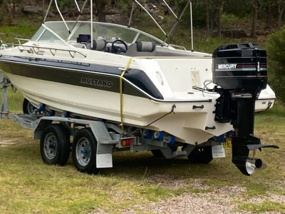 Mustang 2000 Bluewater Sports Cruiser Cuddy Cab