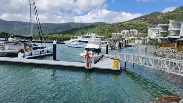 For sale: 15m monohull berth, Port of Airlie, Airlie Beach, QLD