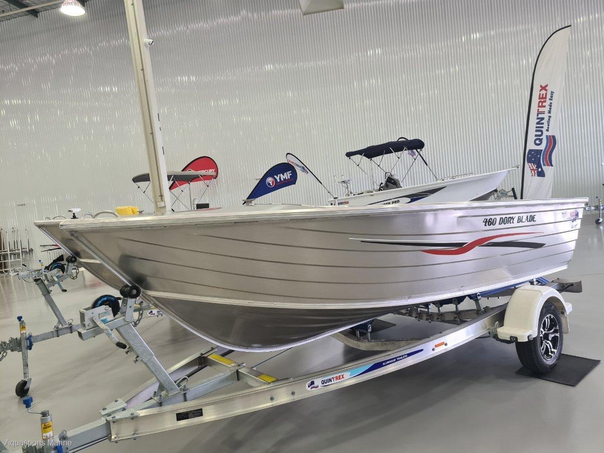 New Quintrex 460 Dory