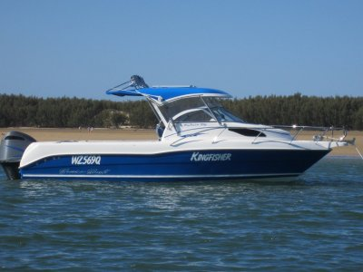 CruiseCraft Explorer 685 HARDTOP WITH REMOVABLE CLEARS