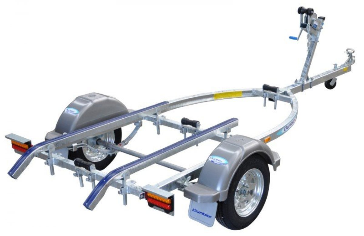 DUNBIER SPORTS 4.0m BOAT TRAILER SUITS BOATS UPTO 3.9 & 4.0M