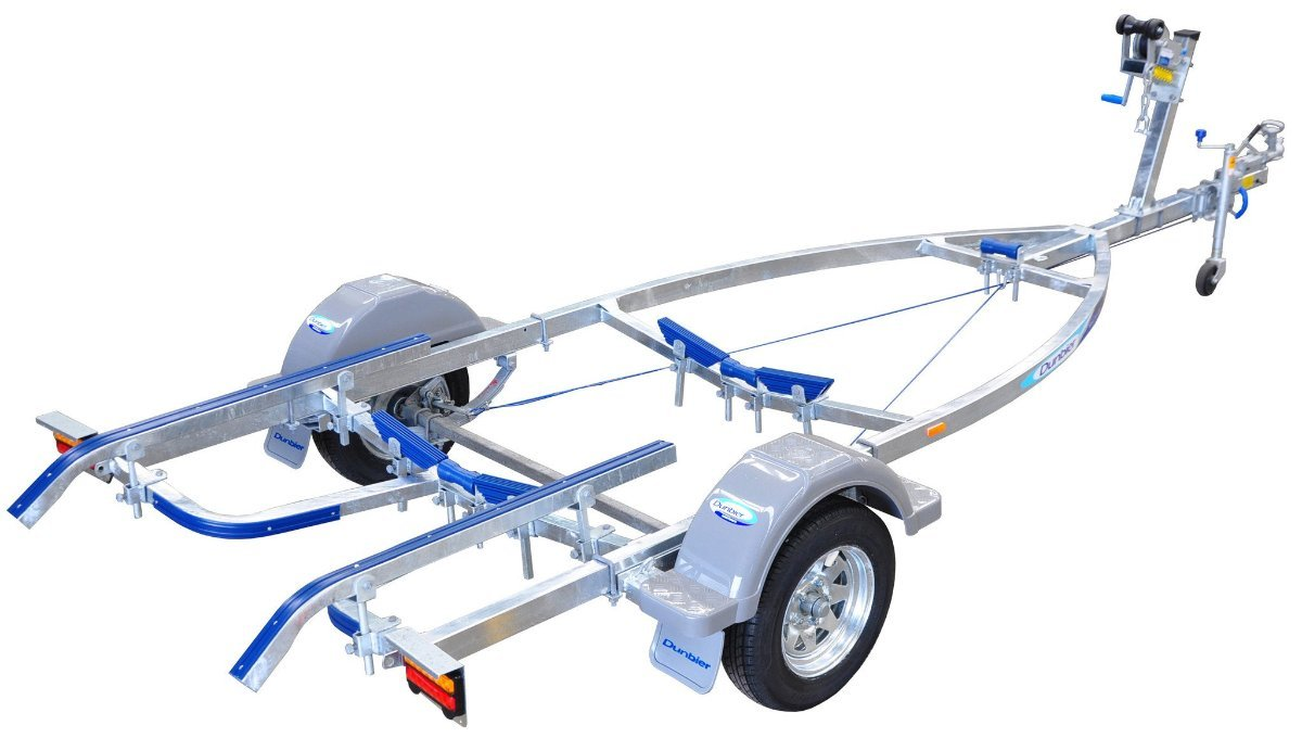 DUNBIER BRAKED 4.4m SPORTS CENTRELINE SUITS BOATS TO 4.4m & 4.5M