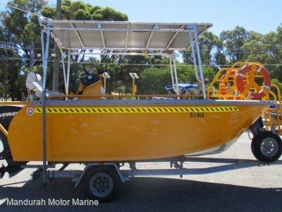 Rear Console Ex Rescue Boat. HEAVY DUTY UNDER $20K