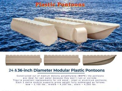 Plastic Pontoons 24