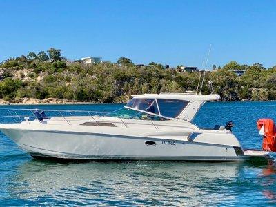 Riviera M360 Sportscruiser - Repowered, twin 8.2L 380HP MerCruiser, 260hrs