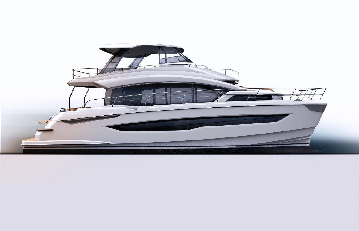 Aquila 54 Power Catamaran
