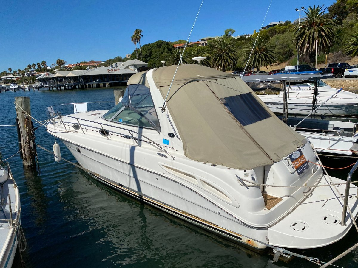"Sea Ray 340/365 SUNDANCER and ""SHAFT DRIVE "":SEARAY SUNDANCER by YACHTS WEST MARINE ph 9335 7788"