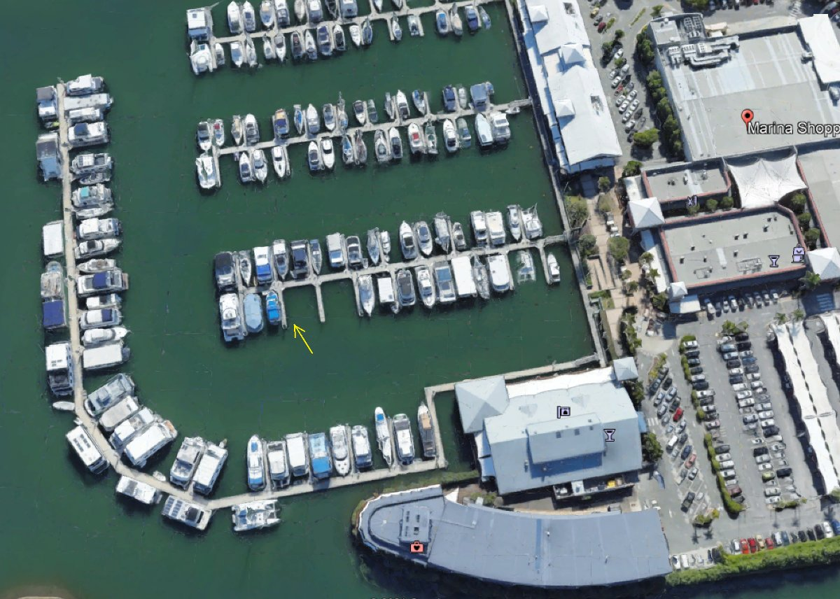 Hope Island Marina Berth 16M Freehold