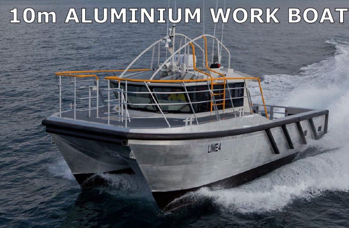 10m Aluminium Catamaran Work Boat