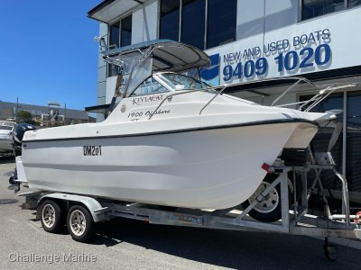 Kevlacat 1900 Offshore twin hull with 90hp 4 Strokes