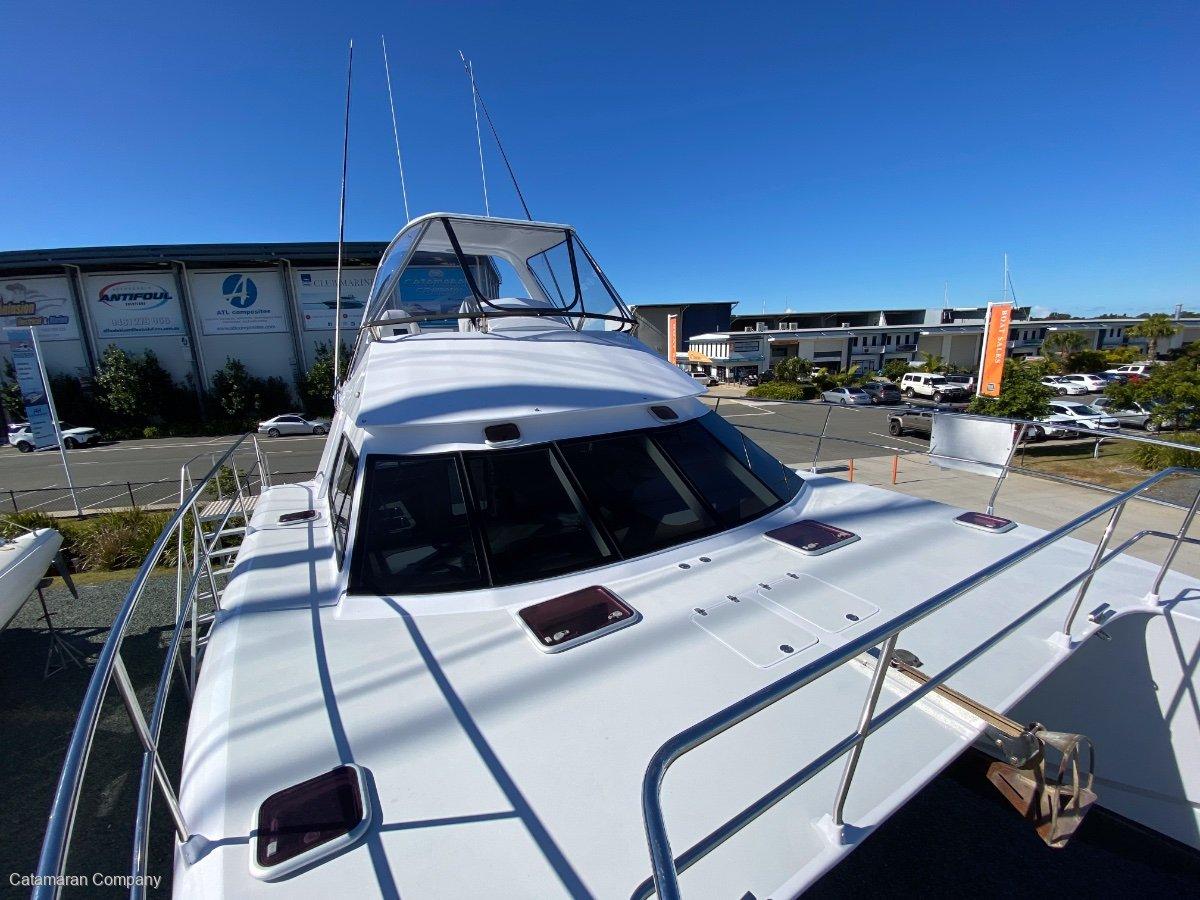 Schionning Prowler 10.4 fuel efficient power catamaran