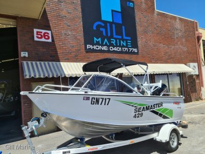 Stacer 429 Sea Master 2020 only 4 hours.....