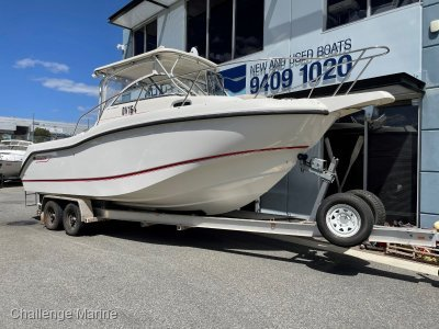 Boston Whaler 255 Conquest - Hardtop