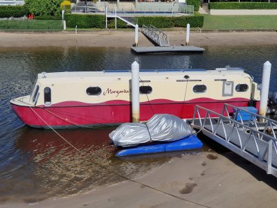 Keith Emms Canal Boat Custom
