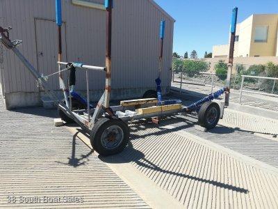 Steel Jinker - 4 wheel