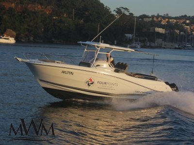 Jeanneau Cap Camarat 9CC | FOUR POINTS BOAT CLUB - MOSMAN