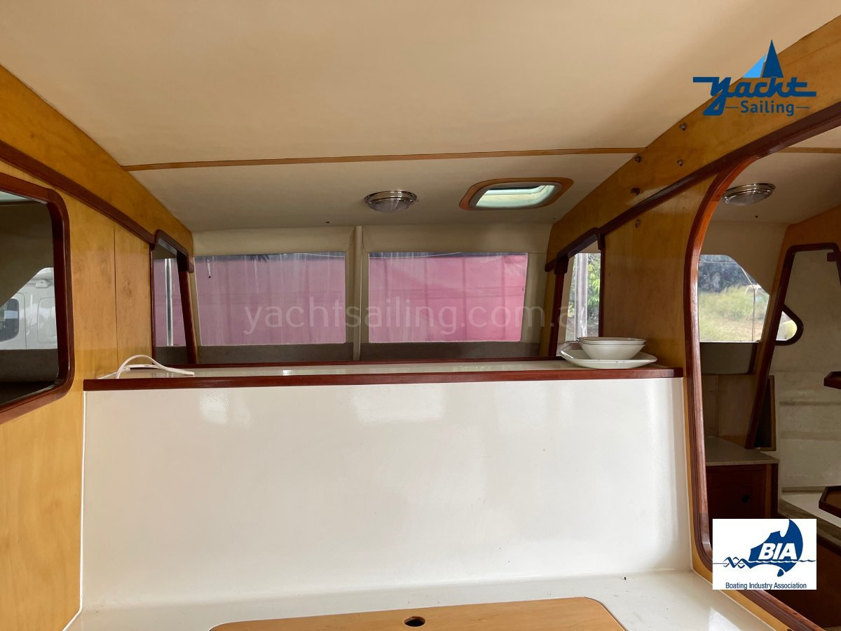 Simpson Refitted to live the dream on this Livaboard Cat