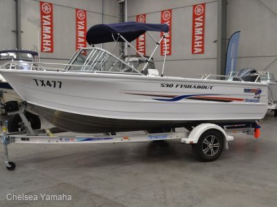 Quintrex 530 Fishabout powered with 130 HP Yamaha $49750.00